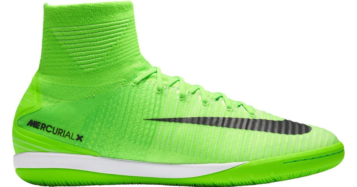 buy popular 1b001 6e06d Lyst - Nike Mercurial X Proximo Ii Indoor Soccer Shoes in Green for Men