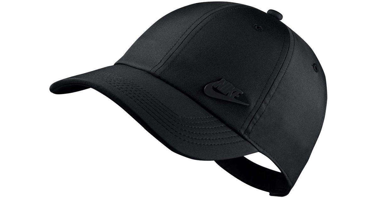 Lyst - Nike Sportswear H86 Metal Futura Cap in Black for Men 2c7123c9046f