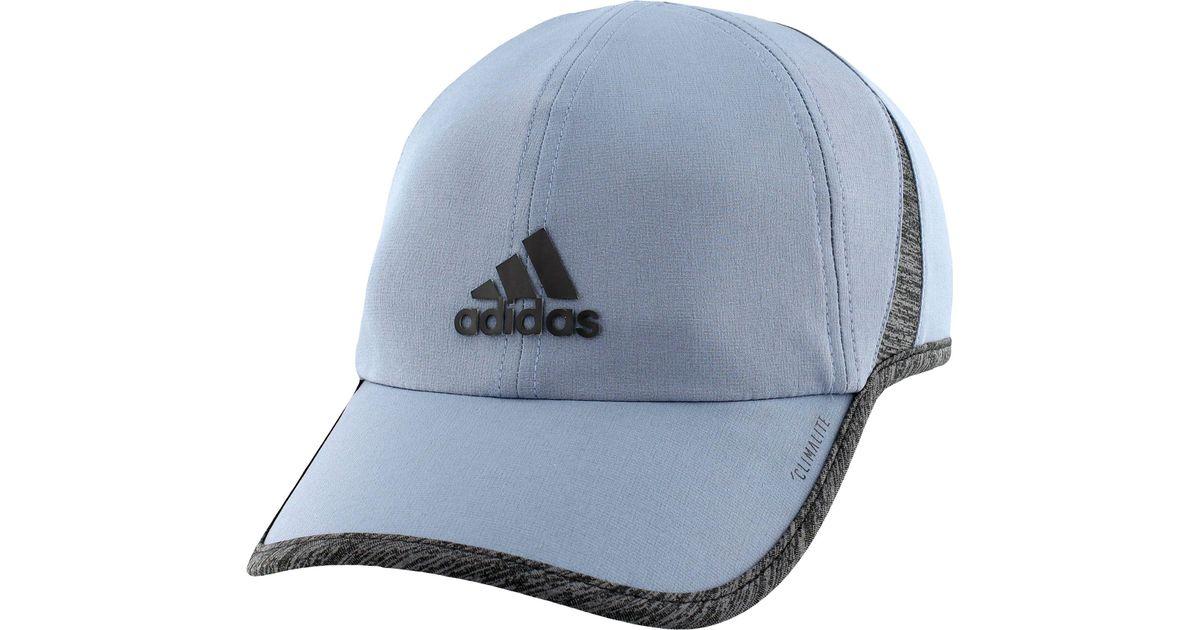 e1dfc28c5f3df ... sale lyst adidas superlite hat in blue for men 9b119 69ed5