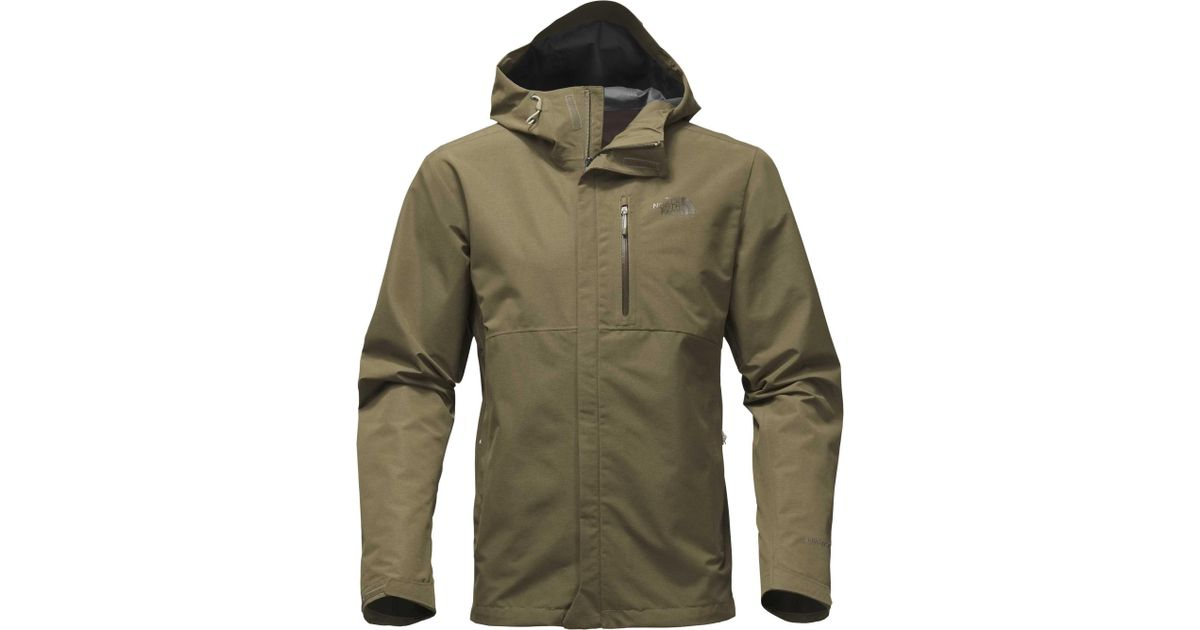 564c5630b6b Lyst - The North Face Dryzzle Jacket in Green for Men
