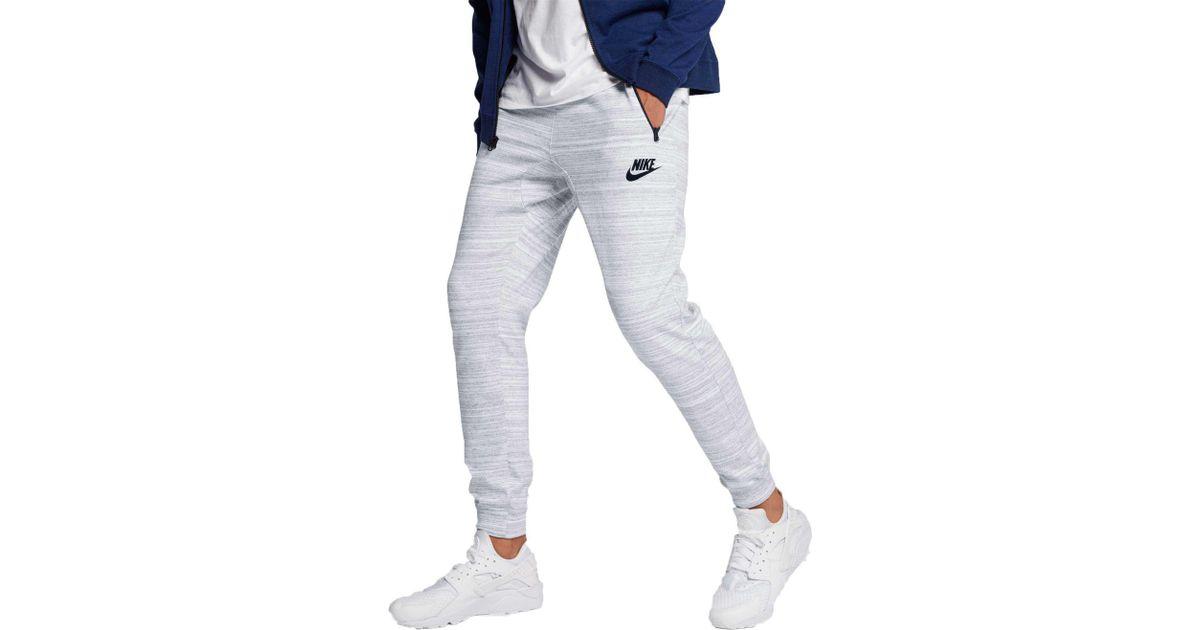 b8046e27d54c Lyst - Nike Sportswear Advance 15 Knit Joggers for Men