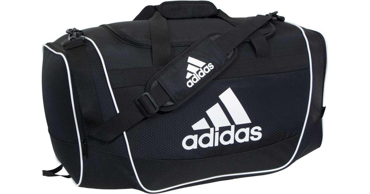 8c70055780 Lyst - Adidas Defender Ii Large Duffle Bag in Black for Men