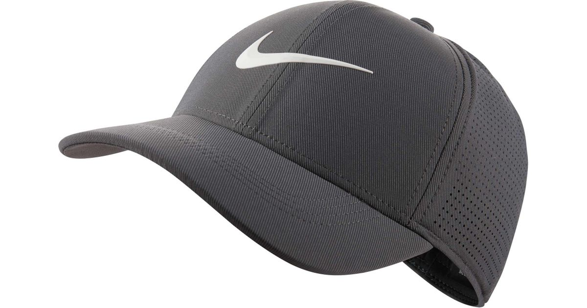 buy popular eea8c 976d4 ... denmark lyst nike 2018 aerobill legacy91 perforated golf hat in gray  for men 18fe6 800ac