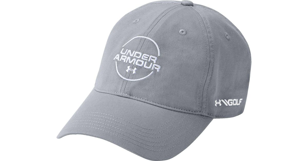 d1dbbe79e64 Double tap  new style 164b3 7e561 Lyst - Under Armour Jordan Spieth Washed  Cotton Golf Hat in  buy online c174a 35ef1 UnderArmour ...