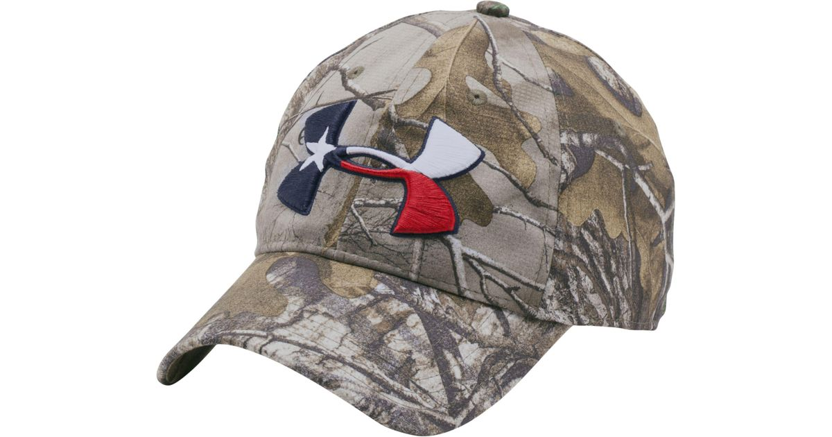 Lyst - Under Armour Texas Star Camo Hat in Gray for Men 6ae08c56f0a