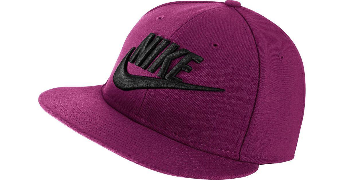 Lyst - Nike Futura True 2 Snapback Hat in Purple for Men 4822e43960d