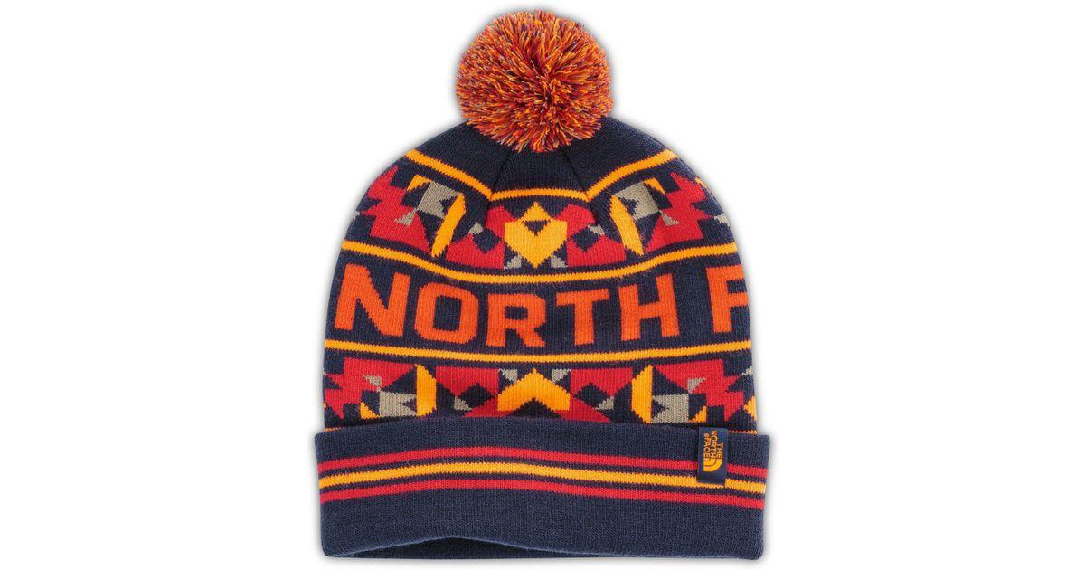 61e4421b1 The North Face - Blue Ski Tuke V Beanie for Men - Lyst