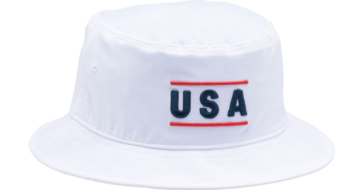 ... low price lyst under armour armourvent usa graphic bucket hat in white  for men 56bec 03600 b2014c036475