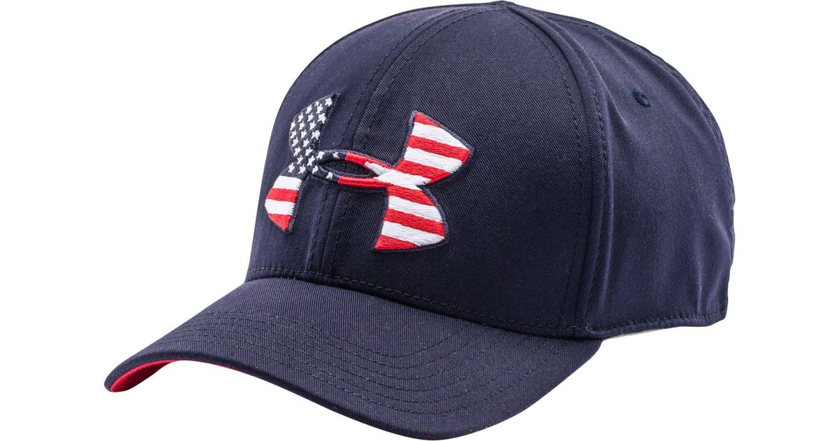 a04ddf59 Under Armour World Flag Low Crown Hat in Blue for Men - Lyst