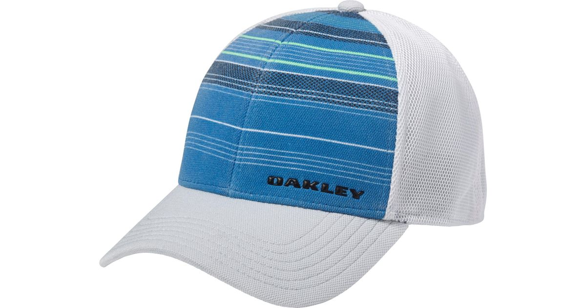 d65f07ebd501f Lyst - Oakley Silicon Bark Trucker 2.0 Print Golf Hat for Men
