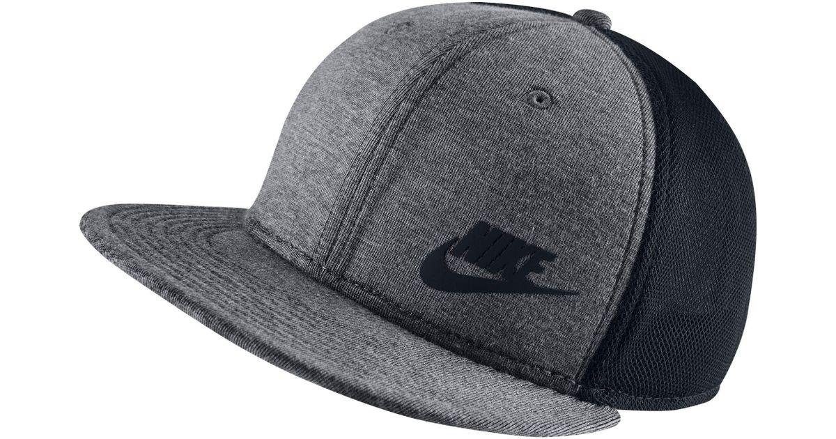9ce0a49bcf8 ... denmark lyst nike true tech pack adjustable snapback hat for men 023da  8d8b0