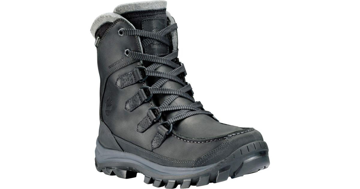 d3dffee9b Lyst - Timberland Earthkeepers Chillberg Waterproof Tall Winter Boots in  Black for Men