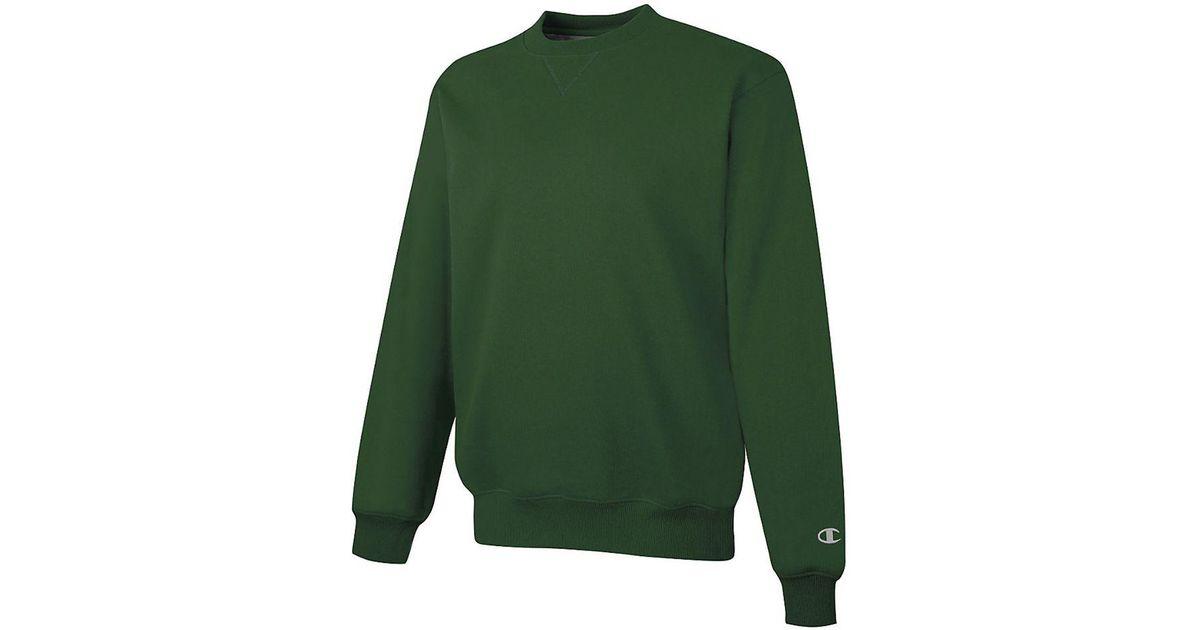 Lyst Cotton Crewneck In Green Champion Tall Max Sweatshirt—bigamp; EDH2YW9I