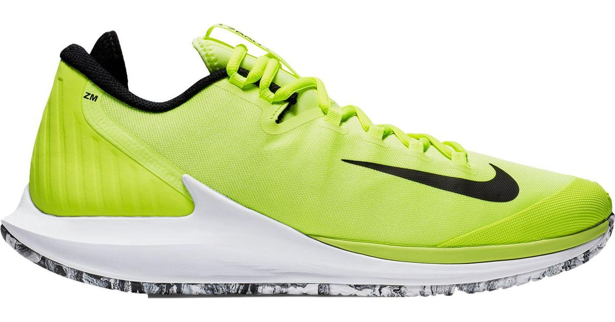 Lyst Nike Court Air Zoom Zero Premium Tennis Shoes In Green For Men