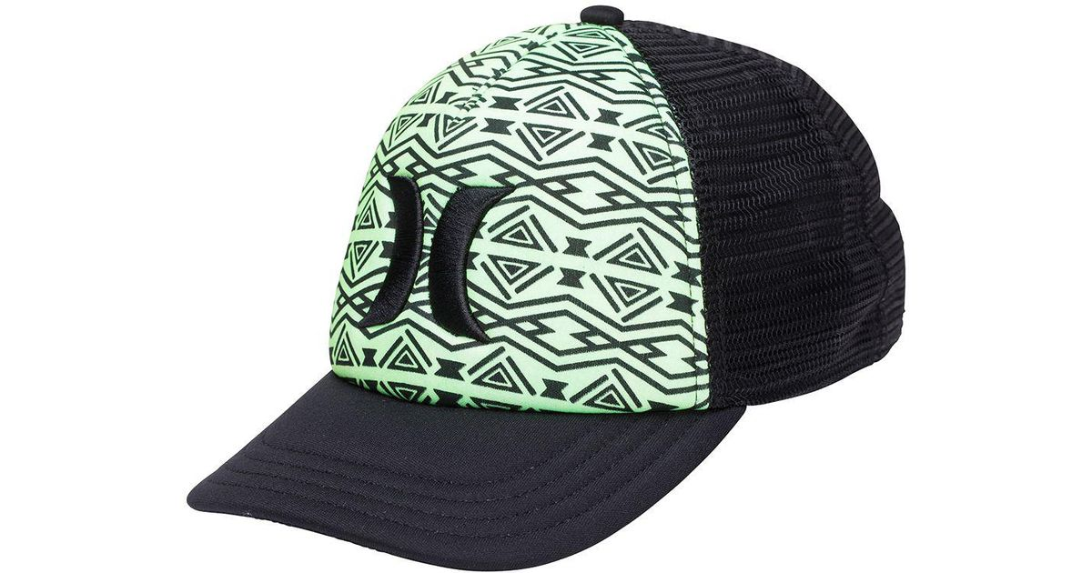 newest 4a365 2ad3e Lyst - Hurley One   Only Trucker Hat in Green for Men