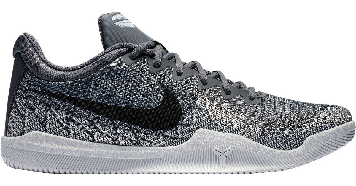 new concept 80bd2 92763 Lyst - Nike Kobe Mamba Rage Basketball Shoes in Gray for Men