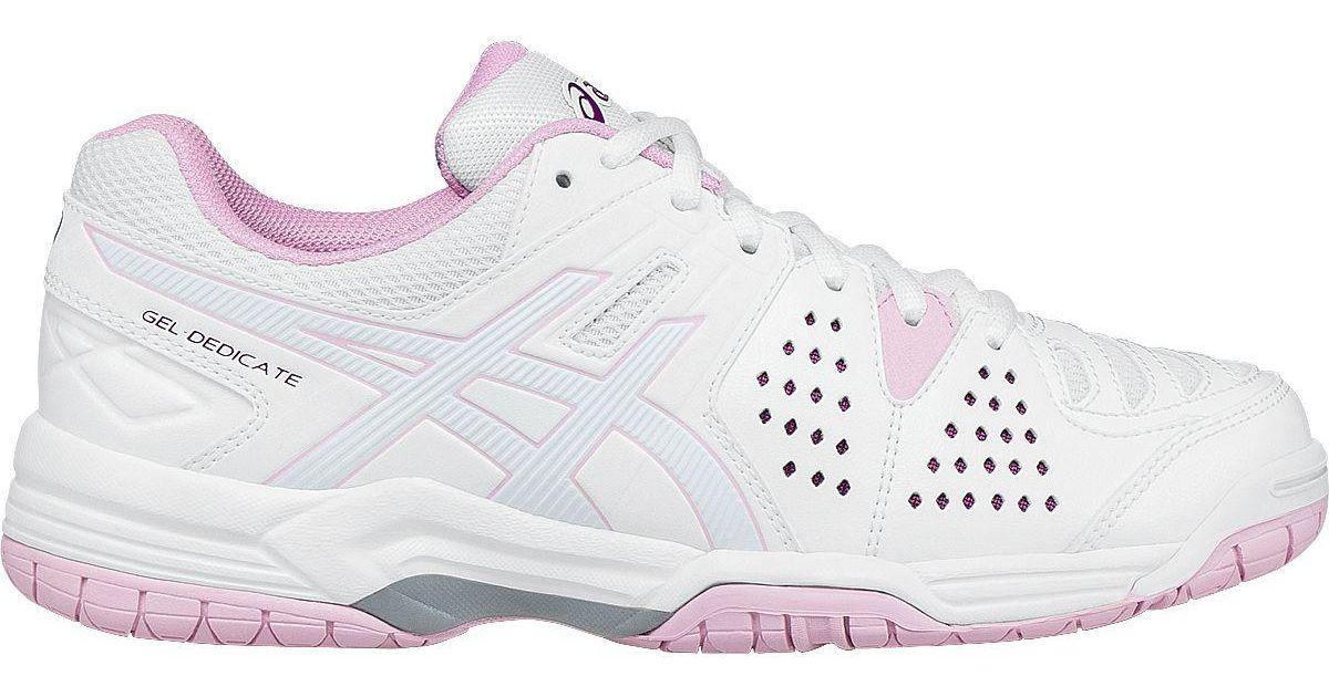timeless design 4f6b8 a68b6 Lyst - Asics Gel-dedicate 4 Tennis Shoes in White