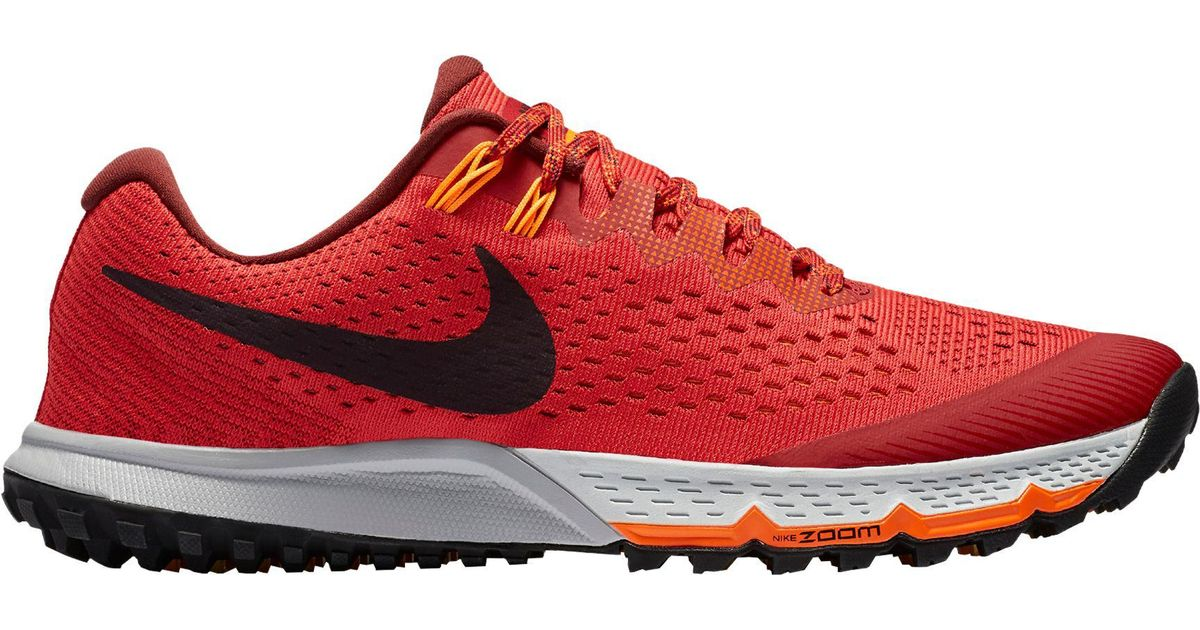 new product b092f adc72 Nike Air Zoom Terra Kiger 4 Trail Running Shoes in Red for Men - Lyst