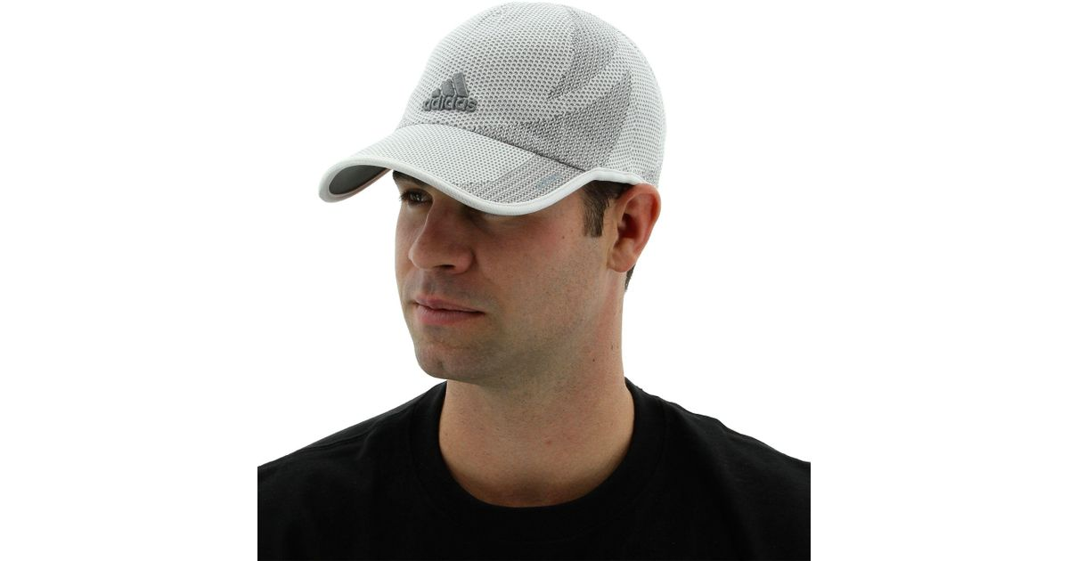 Lyst - adidas Adizero Prime Cap in Gray for Men 922e7a26192