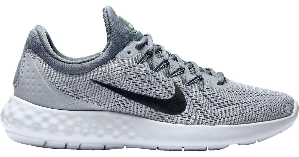 buy online e4d67 bba93 Lyst - Nike Lunar Skyelux Running Shoes in Gray for Men