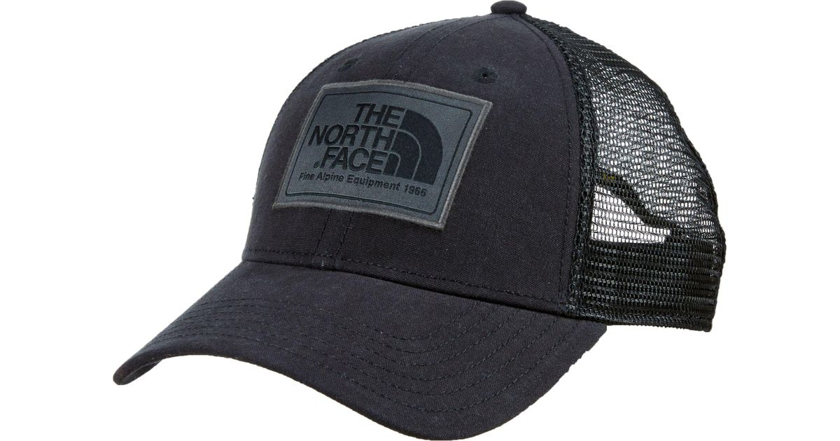 669795eac7efd The North Face Mudder Trucker Hat in Black for Men - Lyst