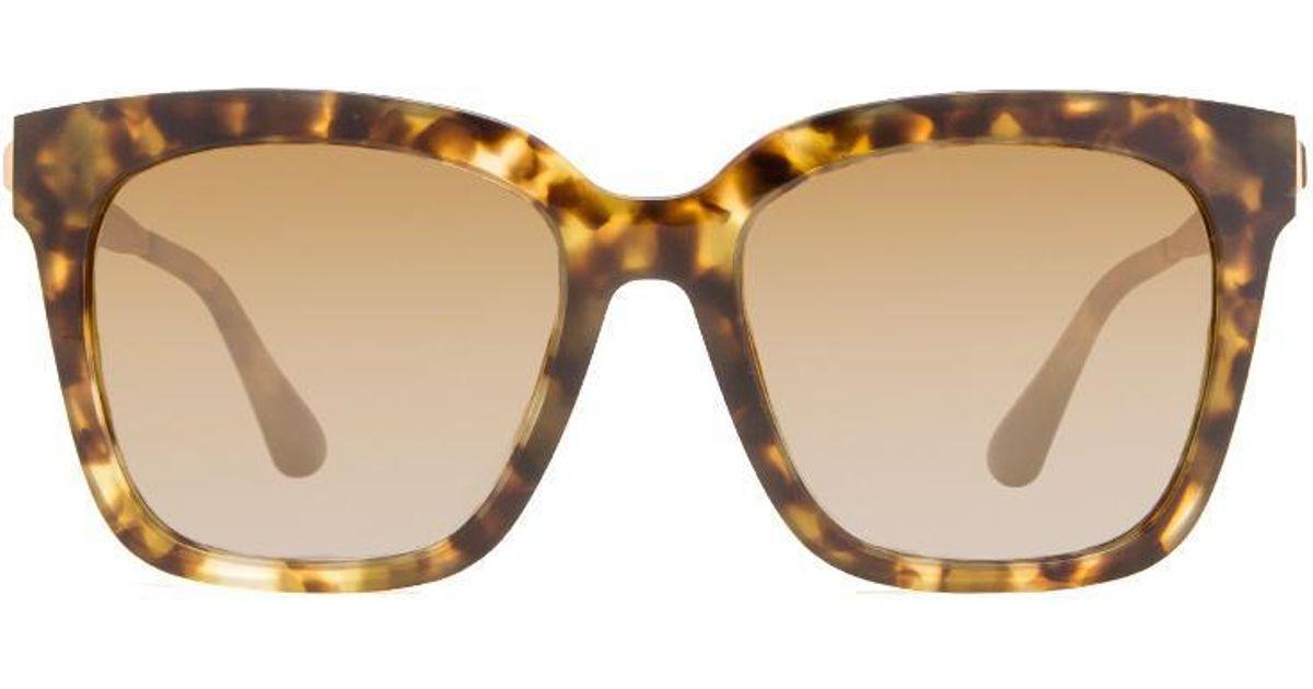 0692d6973672 DIFF Bella - Moss Havana + Brown Gradient Gold Flash + Polarized in Brown -  Lyst