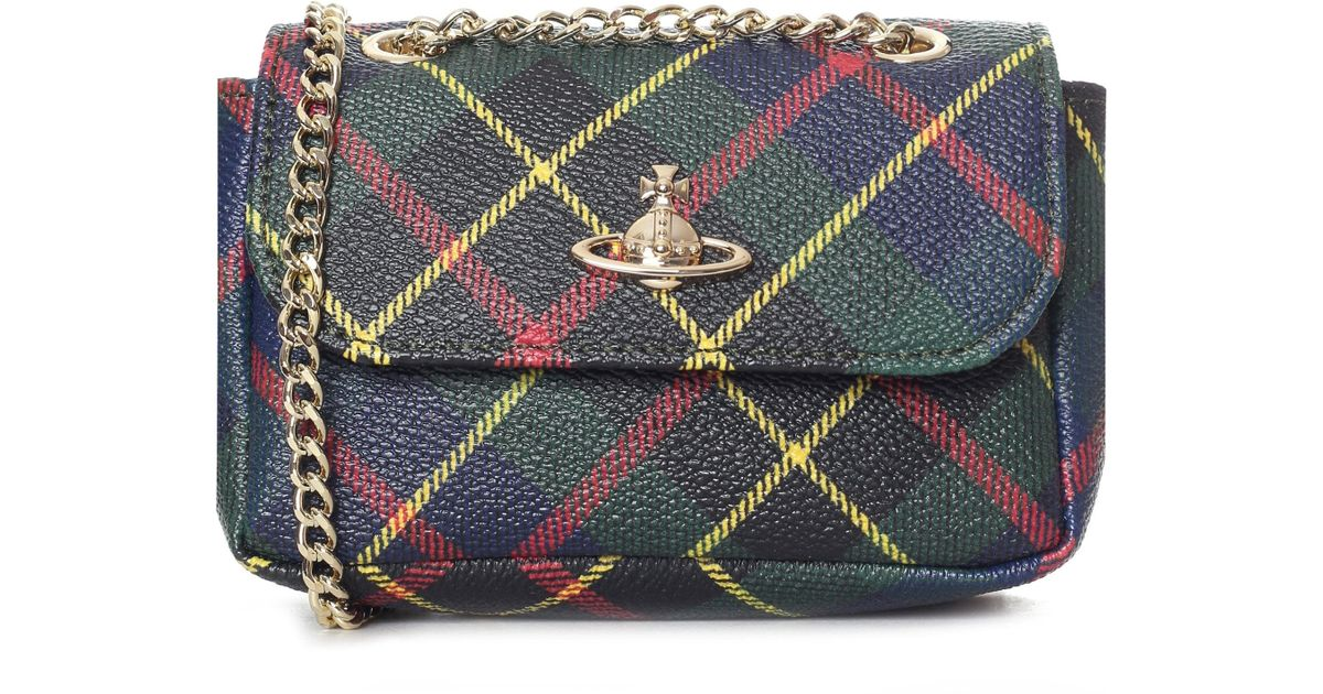 debfeae109c Vivienne Westwood Derby Small Purse With Chain - Lyst