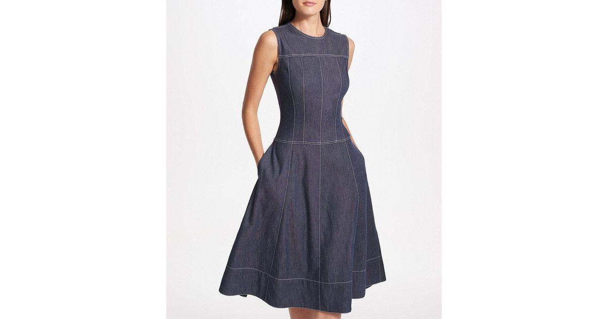 Asombroso Denim Cocktail Dress Ideas Ornamento Elaboración ...