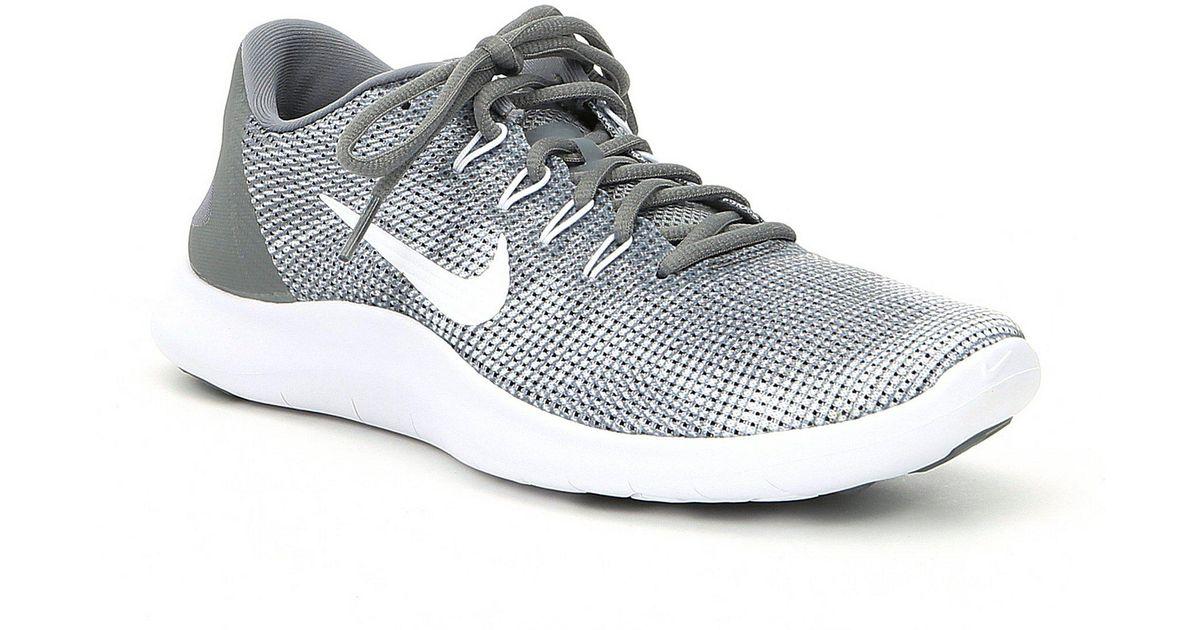6fed58e93383 Lyst - Nike Men s Flex 2018 Rn Running Shoes in Gray for Men