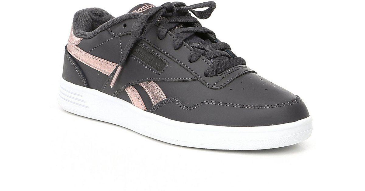 d28f41a8dced Reebok Women s Club Memt Shoes in Gray - Lyst