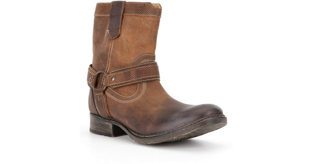 ... lyst bed stu roan men s colton distressed leather boot in brown for men  · bed stu tank boots tan greenland ...