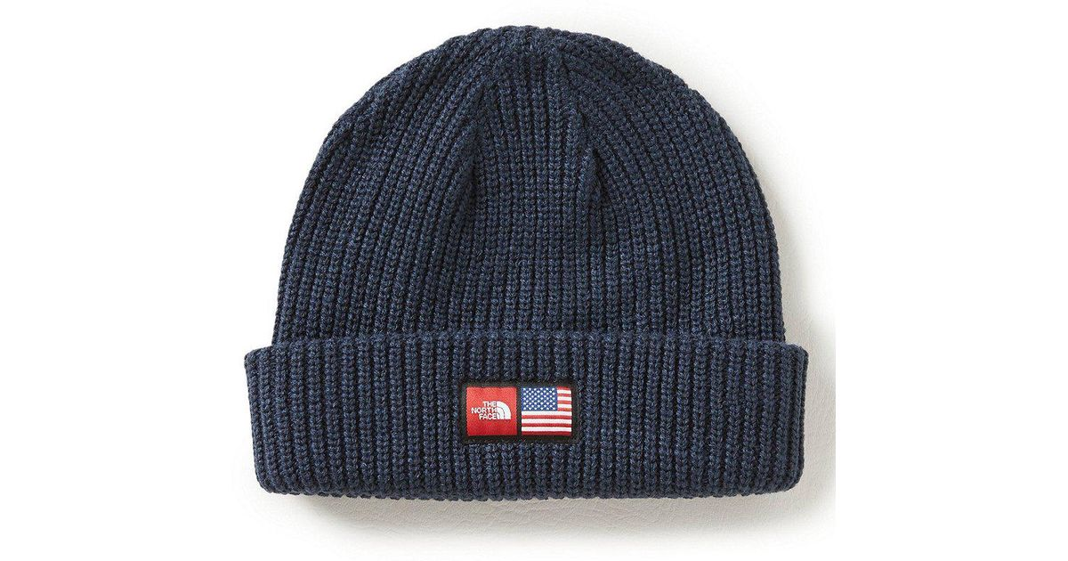 Lyst The North Face 2018 Winter Olympics Men S Beanie In Gray For d9b90fc58a06