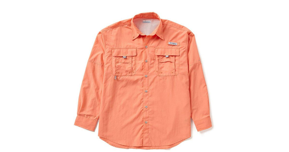 409d51cc015 Lyst - Columbia Pfg Bahama Ii Omni-shade Long-sleeve Solid Shirt in White  for Men