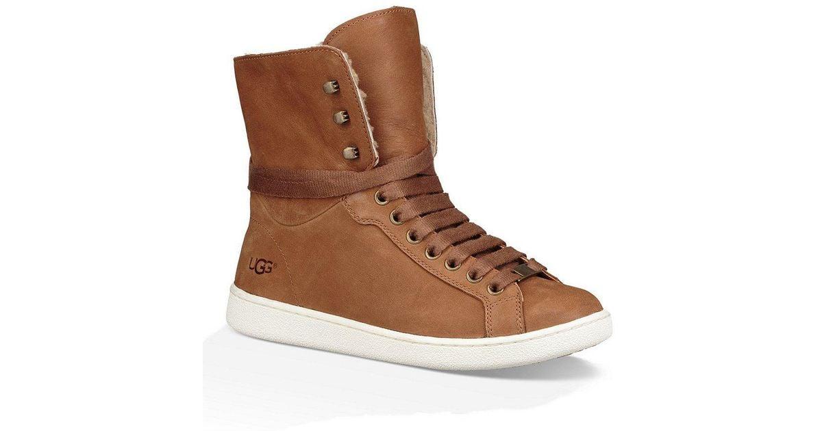 Starlyn Hi Top Sheepskin Sneakers zFbfGRkQ