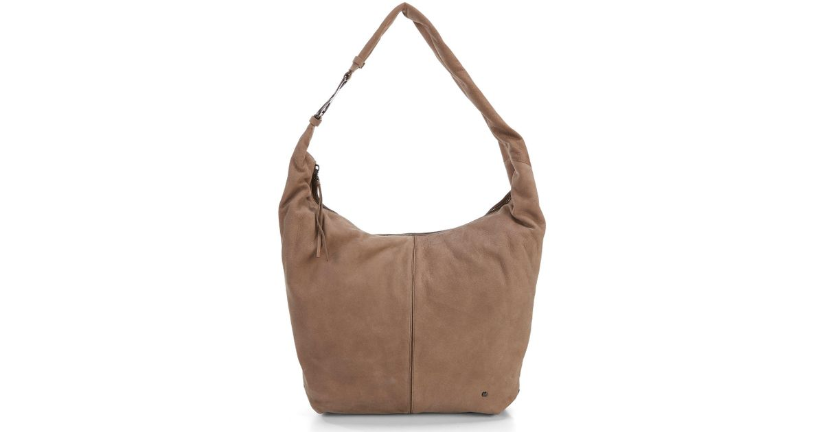 6b7a0c034769 Halston Heritage - Brown Tina Large Slouchy Hobo Bag - Lyst