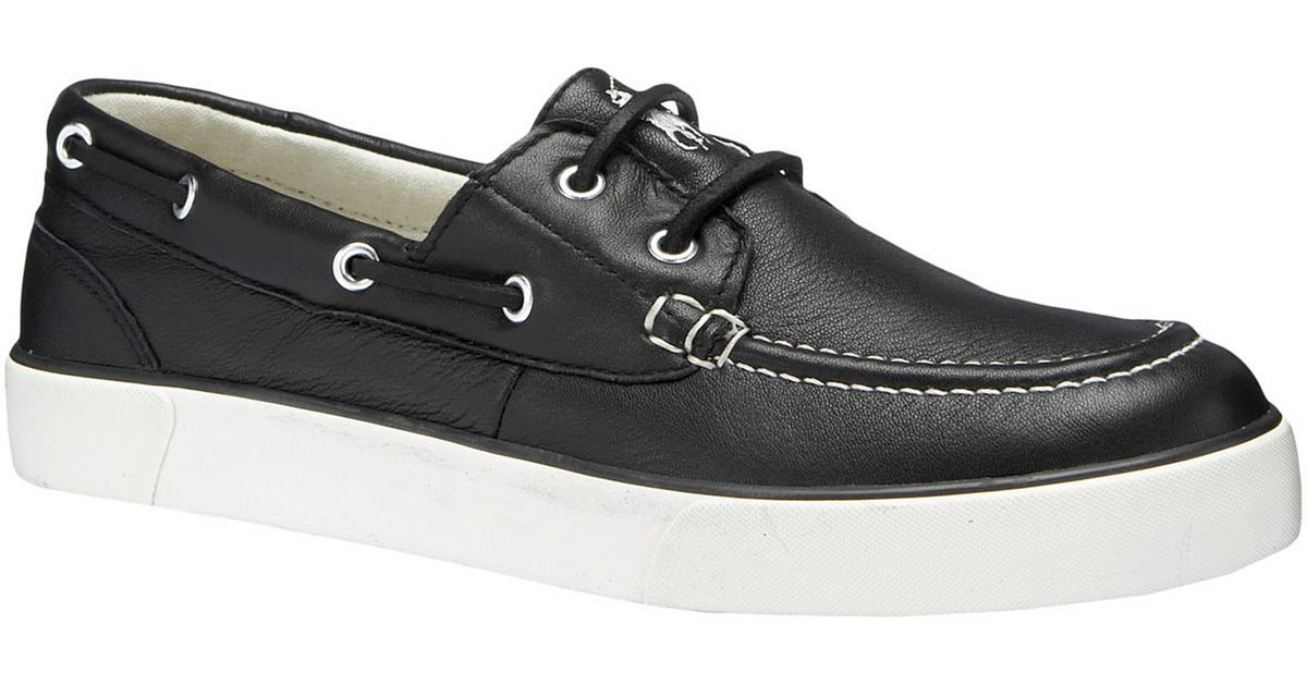Polo Sander Leather Boat Shoes