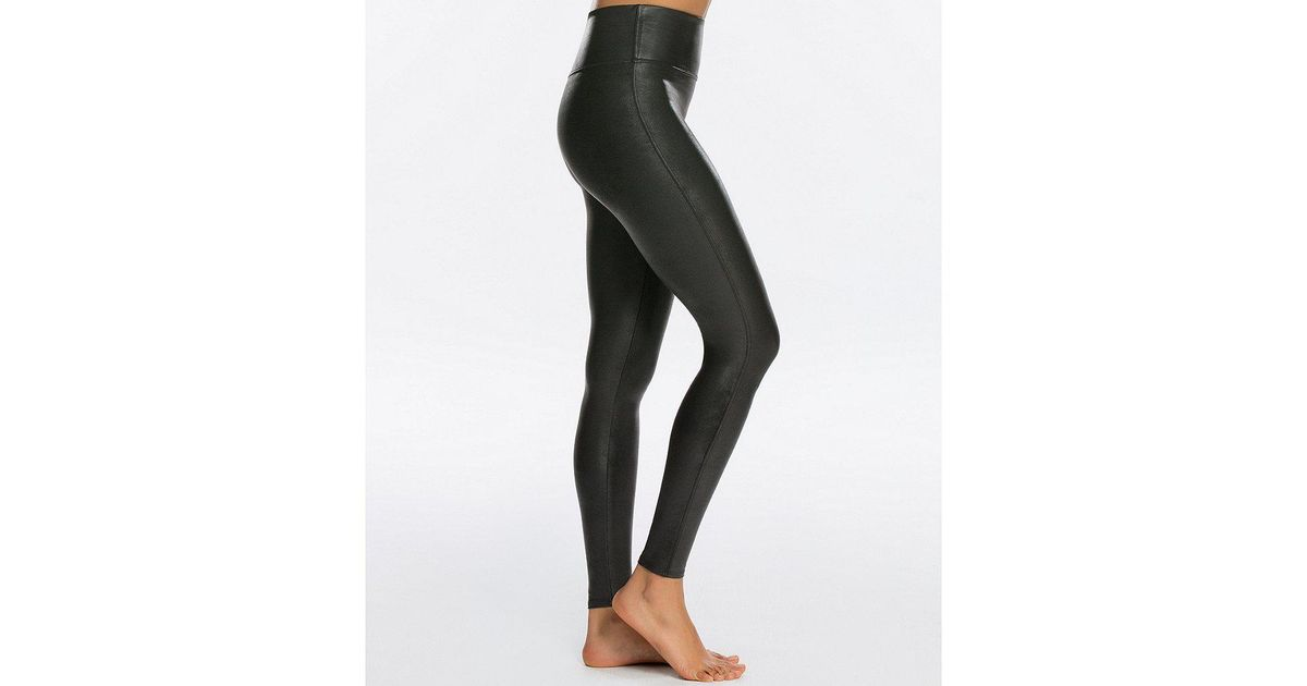 fc4680a206257 Spanx Ready To Wow Faux-leather Leggings - Lyst
