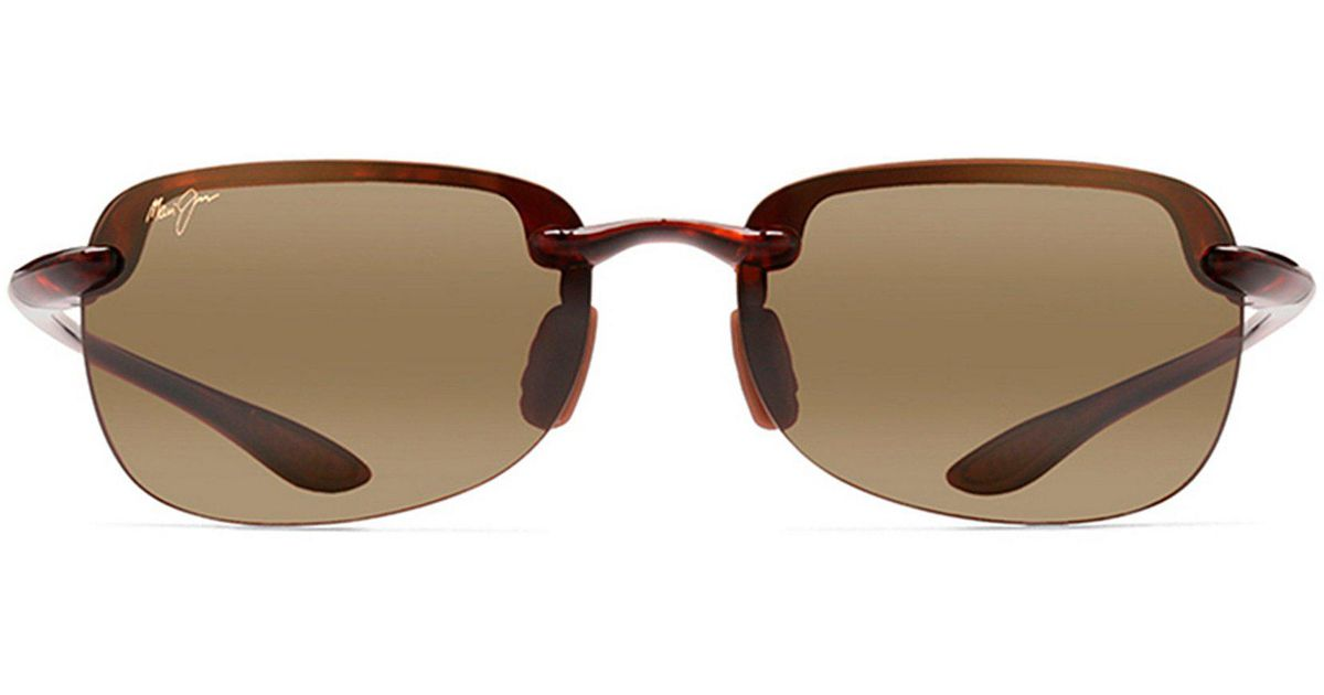2b0991d9ff3 Lyst - Maui Jim Sandy Beach Glare And Uv Protection Contrast Sunglasses in  Brown