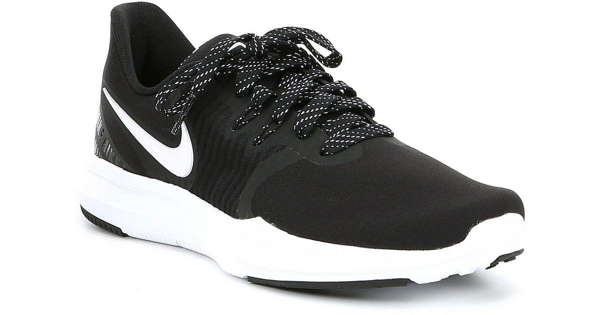 41b24e1fcc60 Lyst - Nike Women s In-season Tr 8 Print Training Shoe in Black