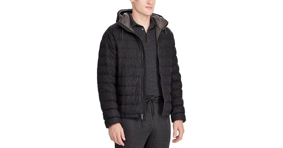 moncler doudoune flannel down jacket