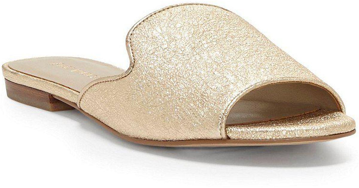 Enzo Angiolini Merilyn Metallic Leather Dress Sandals phtZeb3b