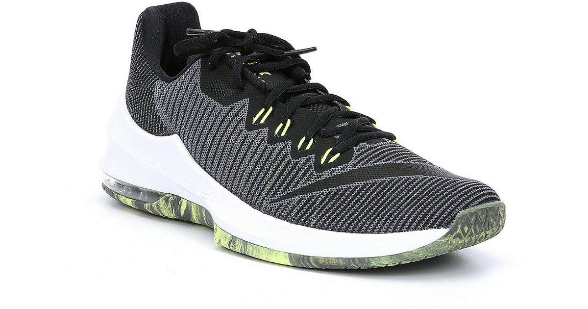 sports shoes 62180 7aa83 Nike Men s Air Max Infuriate 2 Low Basketball Shoes in Gray for Men - Lyst