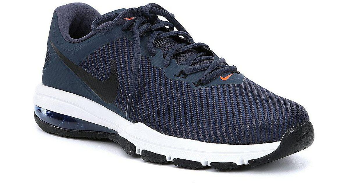 b0404ac818 Nike Men's Air Max Full Ride Tr Training Shoes in Blue for Men - Lyst