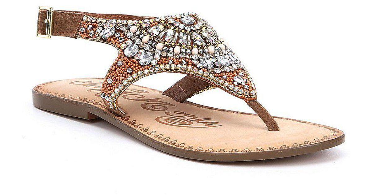 Ice Berg Jeweled Sandals cB0WzDc