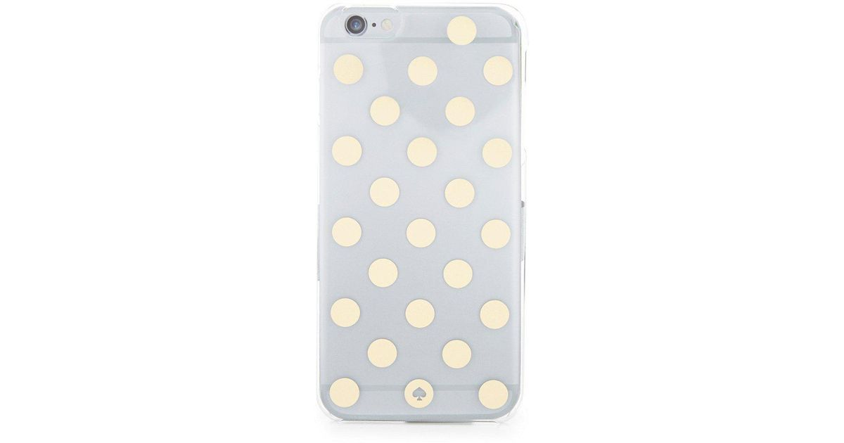 new concept 9d42b 4f986 Kate Spade - Multicolor Le Pavillion Polka-dot Iphone 6 Plus Case - Lyst