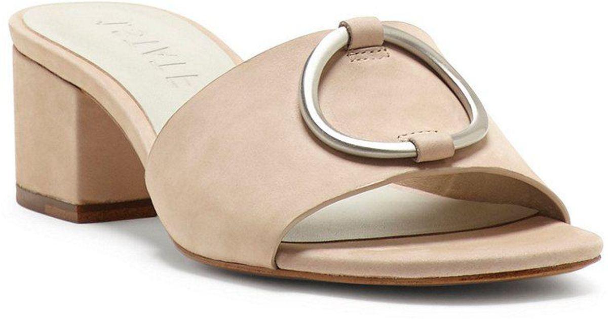 1. STATE Jacale Nubuck Block Heel Dress Sandals T7EGfzxE