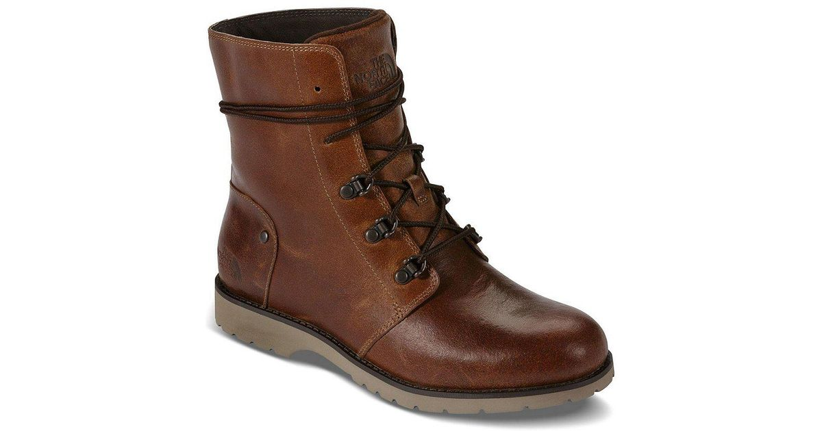 2be446fbb6bf5 Lyst - The North Face Women s Ballard Lace Ii Boot in Brown - Save 7%