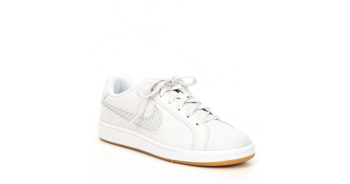 best website 76da0 6a04a Nike Women s Court Royale Premium Lifestyle Shoe in White - Lyst
