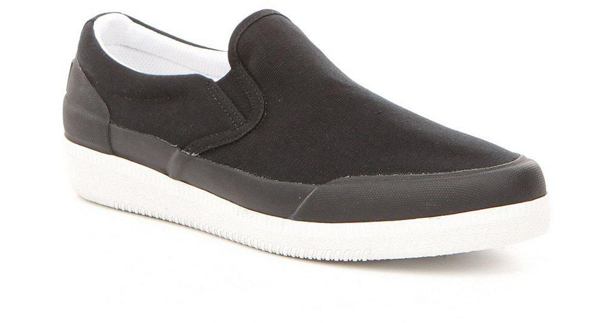 Canvas Water-Resistant Slip-Ons eZSsxbPc8