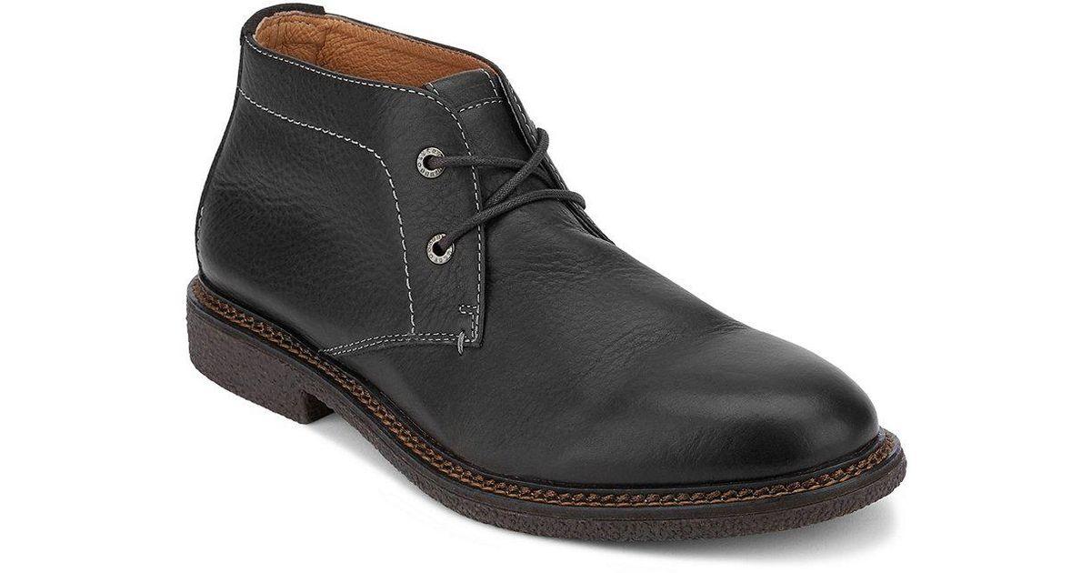 Lucky Brand Mason Chukka Boot(Men's) -Cement Leather Best Seller Sale Online hRSoW